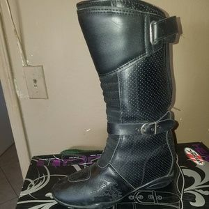 Womans Motorcycle boots